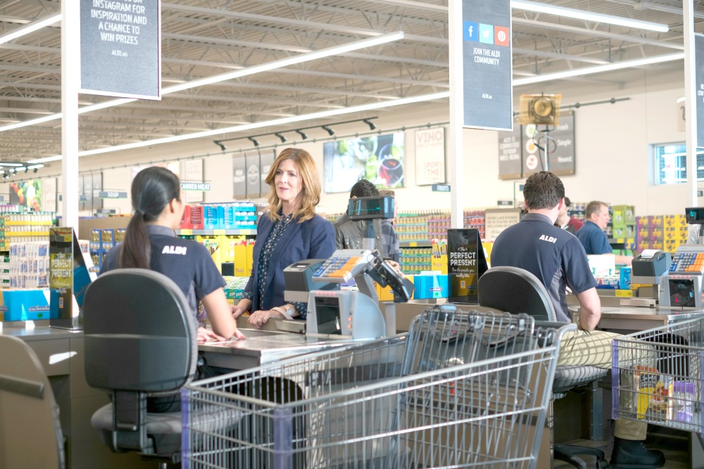 Aldi cashiers