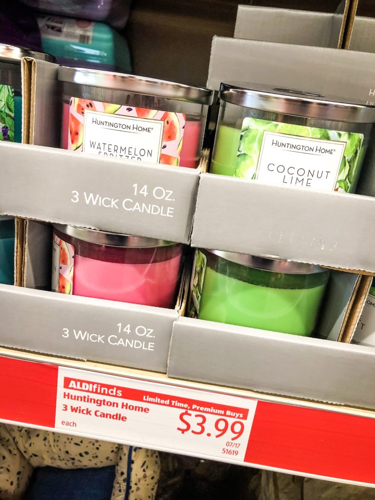 Aldi Candles - Huntington Home Candles | Aisle of Shame