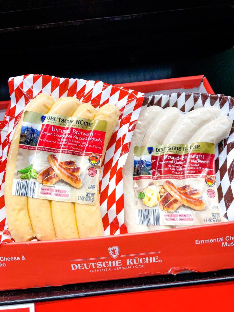 Deutsche Kuche Bratwurst