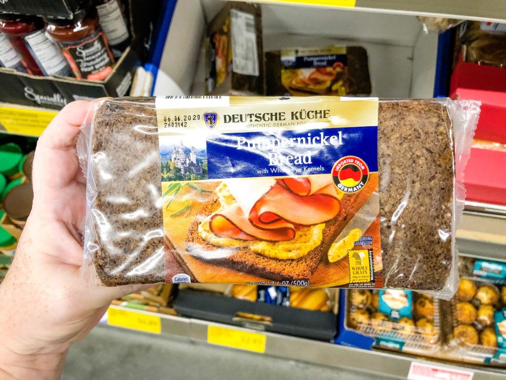 Aldi pumpernickel bread