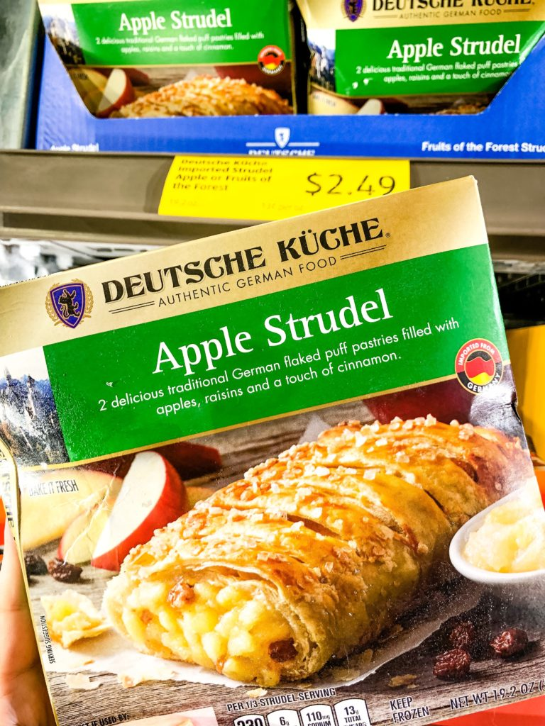 Aldi Apple Strudel
