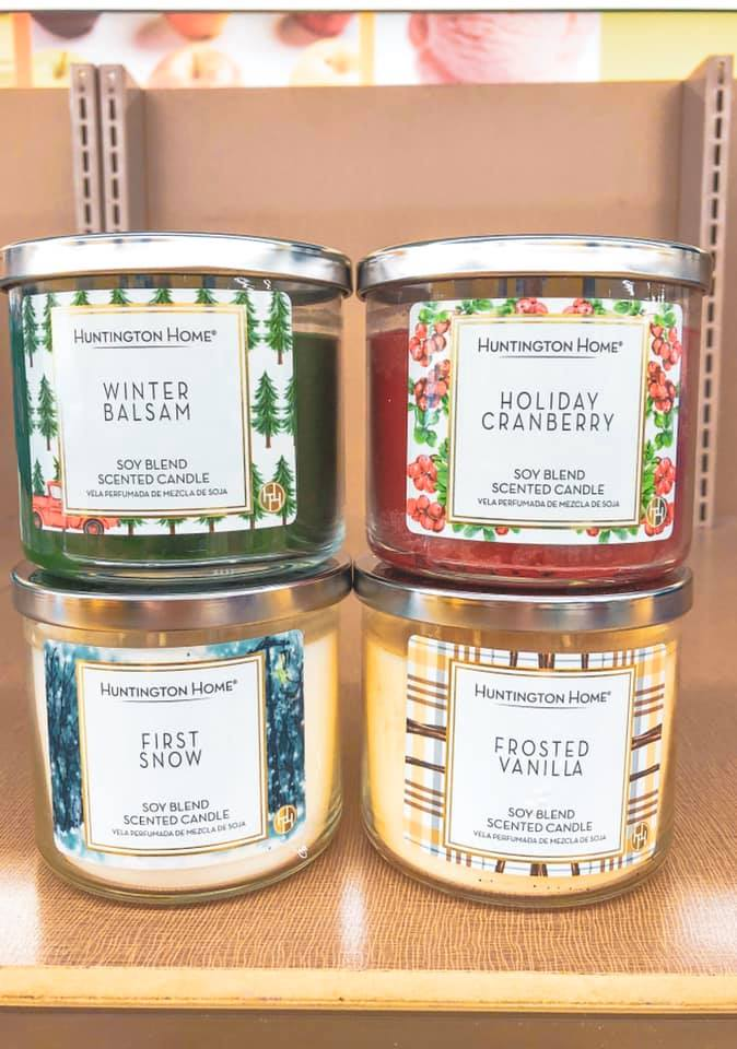 aldi winter candles