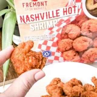 Nashville Hot shrimp from aldi