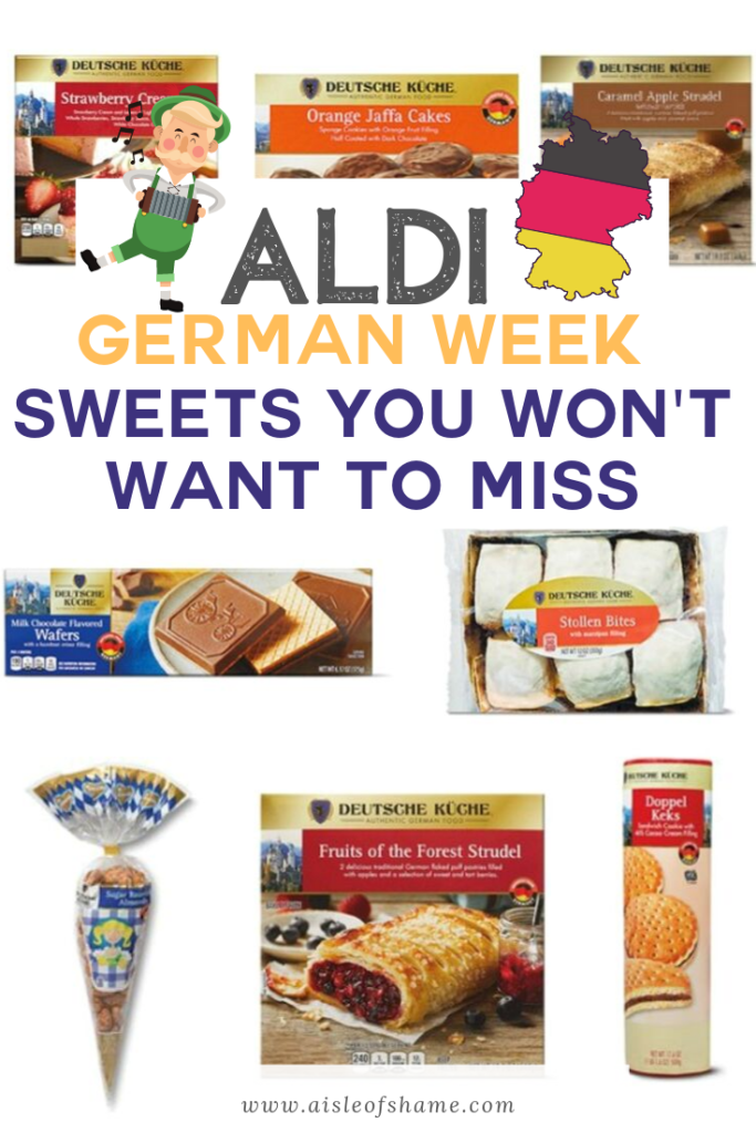 ALDI GERMAN WEEK SWEETS