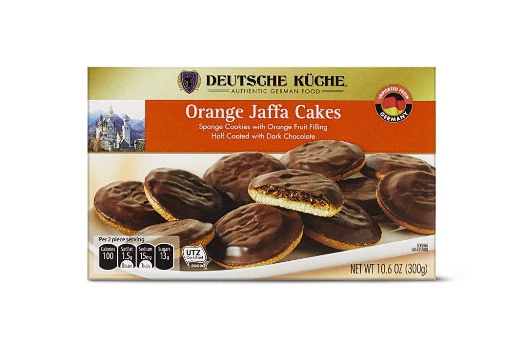 Aldi jaffa cakes