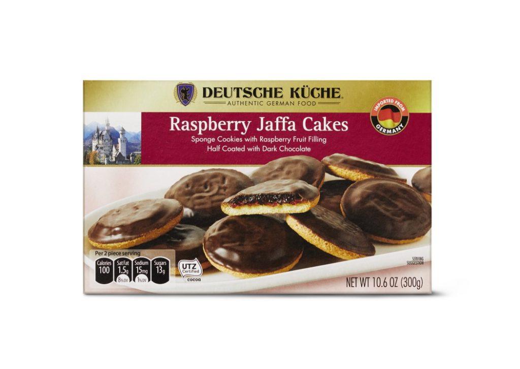 aldi jaffa cakes raspberry