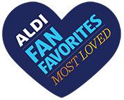 aldi fan favorites logo