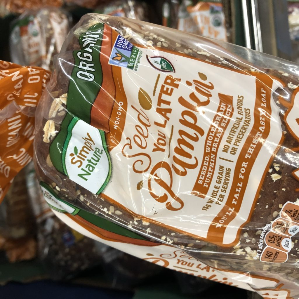 Simply Nature Seed You Later Pumpkin Bread