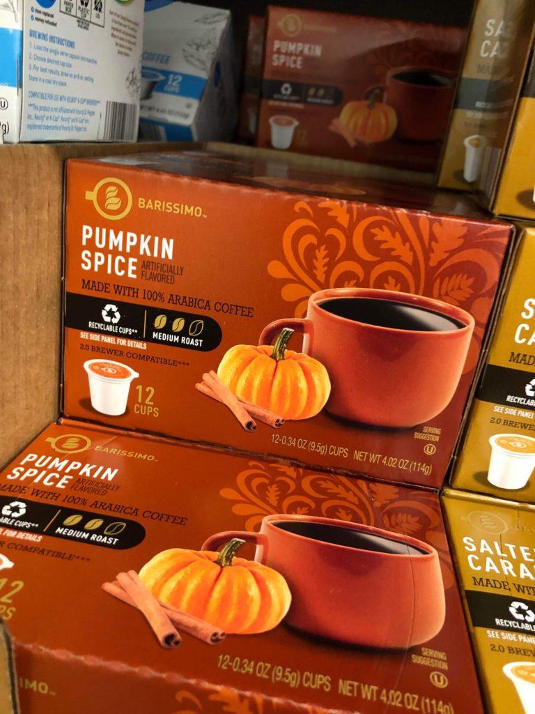 Barissimo Pumpkin Spice Single Serve Coffee Cups