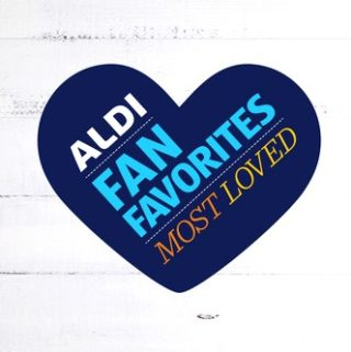 aldi fan faves heart