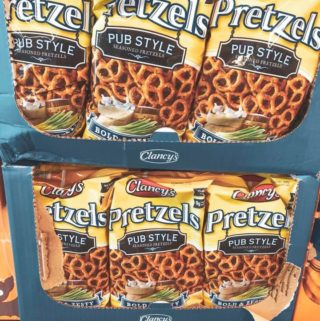 Clancy's Pub Style Seasoned Pretzels from Aldi