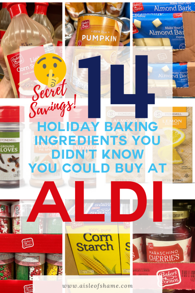 14 Aldi holiday baking items