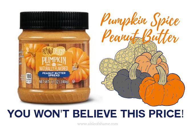 Pumpkin Spice Peanut Butter at Aldi