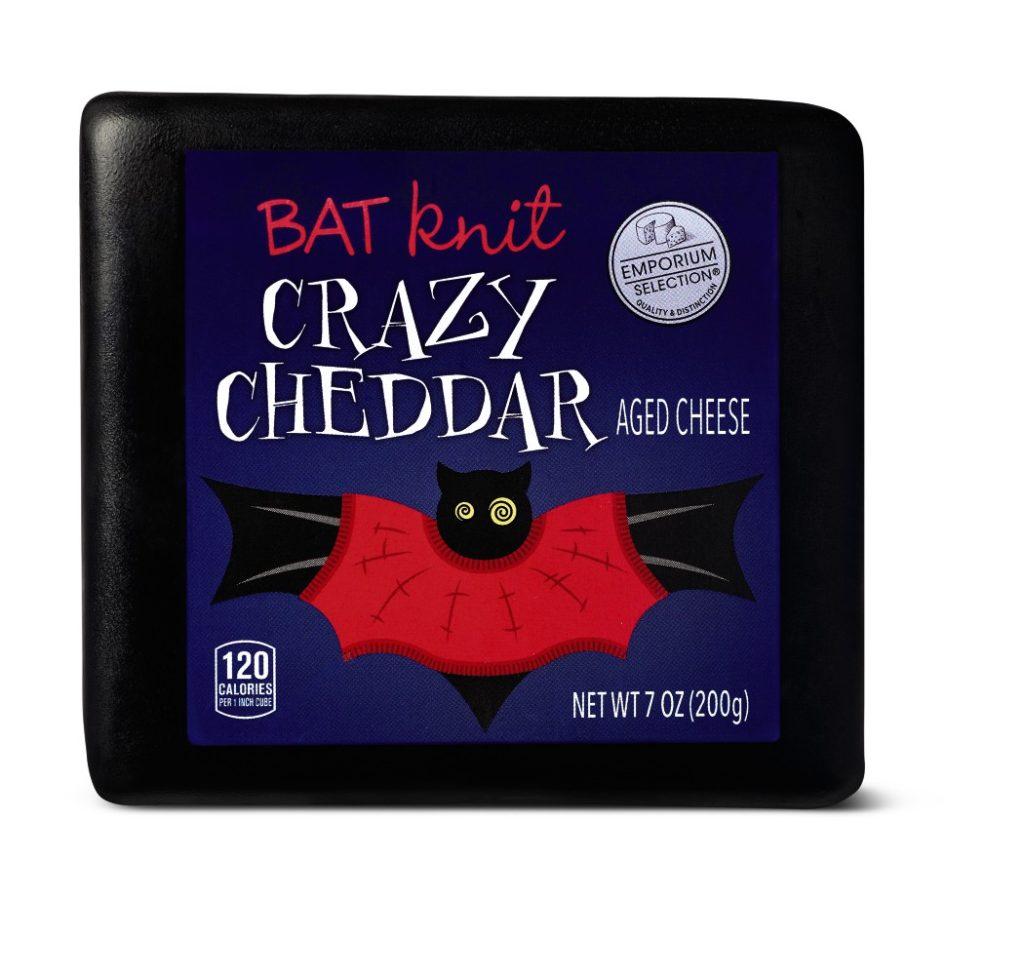 Aldi Halloween Cheese Bat Crazy Cheddar