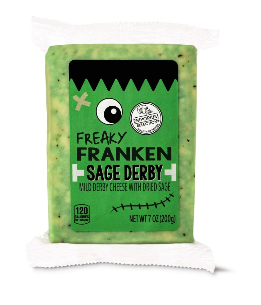 Aldi Halloween Cheese Freaky Frankenstein