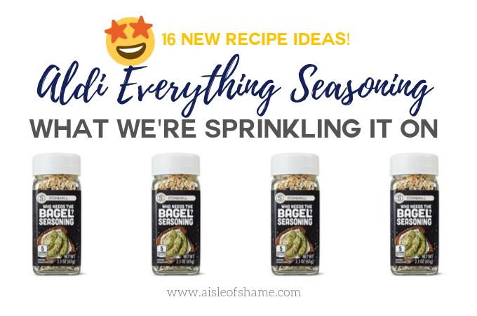 Aldi Who Needs the Bagel Recipe Ideas