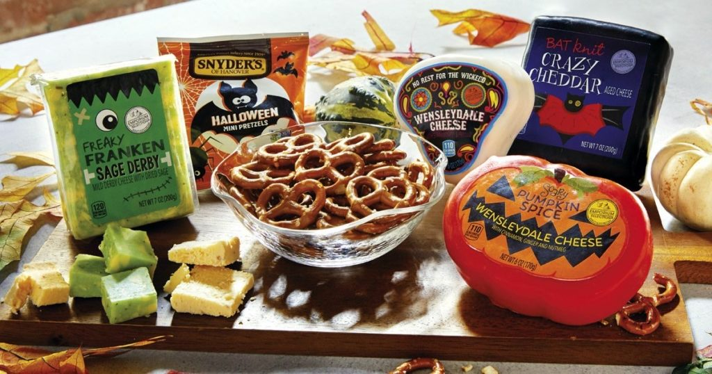 Aldi Halloween Cheeses
