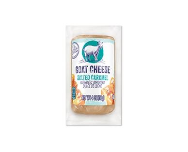 Aldi goat cheese salted caramel