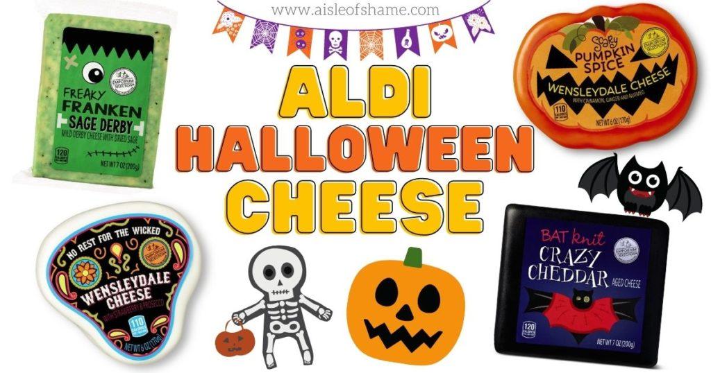 aldi halloween cheese selection 2020