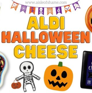 aldi halloween cheese selection 2020