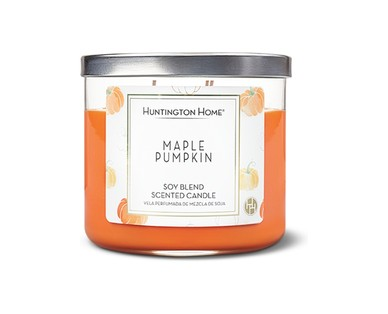 Maple pumpkin candle