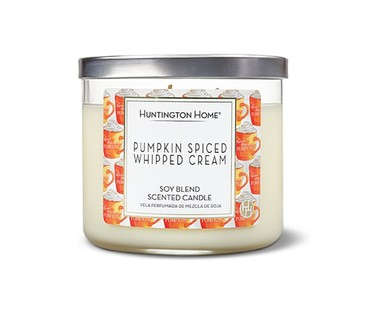 Aldi candle pumpkin spiced whipped cream