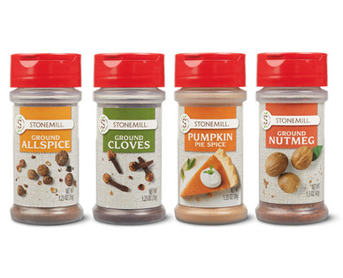 Aldi holiday baking spices
