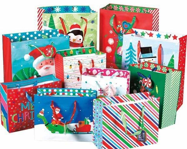 Aldi holiday gift bags