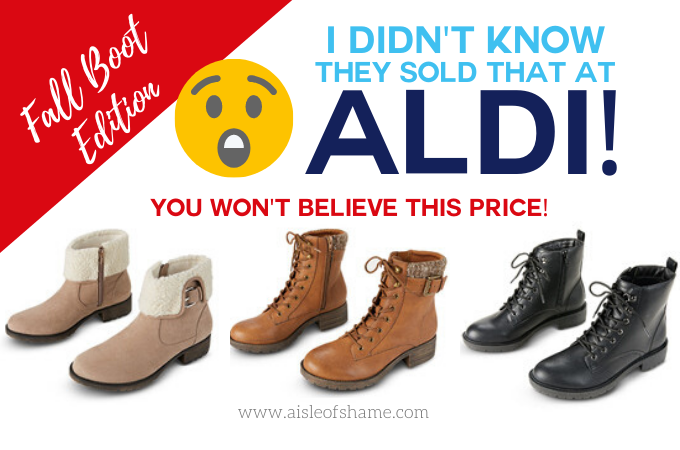 Another Aldi Boots Craze is in the