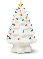 Aldi white Christmas tree