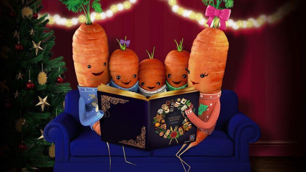 Kevin the carrot Katie Jasper, Chantony and Baby