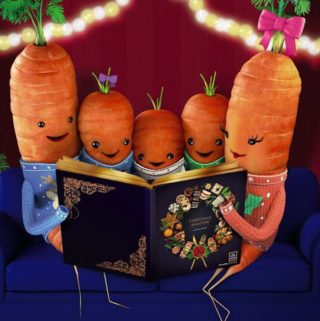 Kevin the carrot Katie