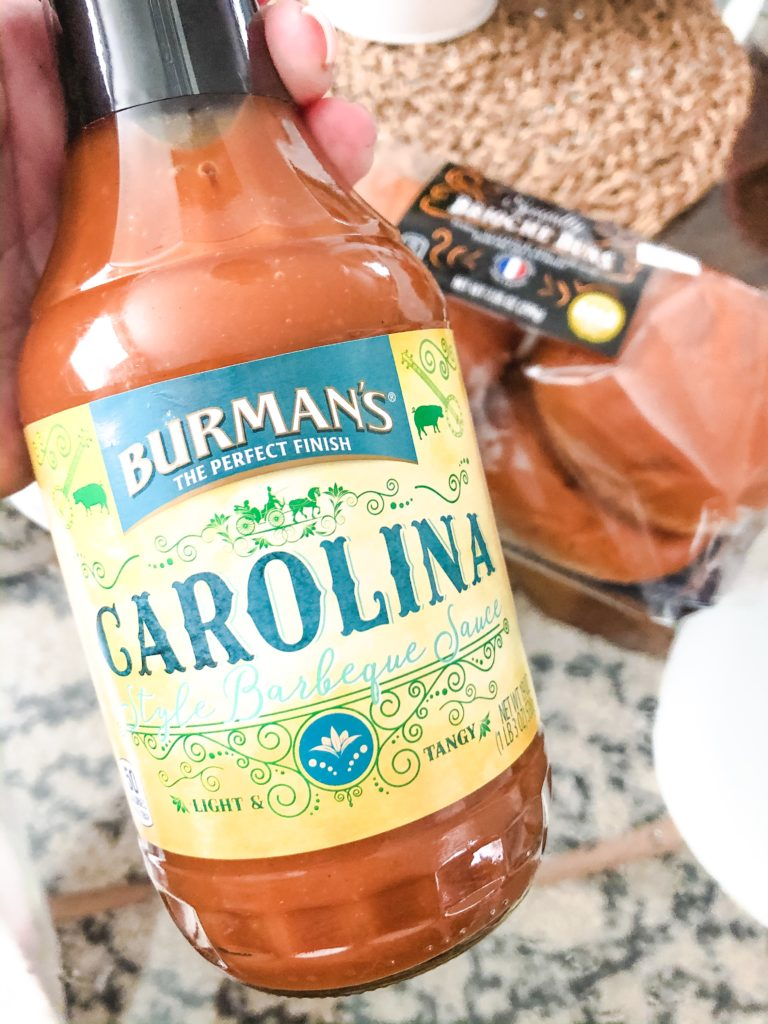 Burman's Carolina Style Barbeque Sauce for copycat chick-fil-a sauce
