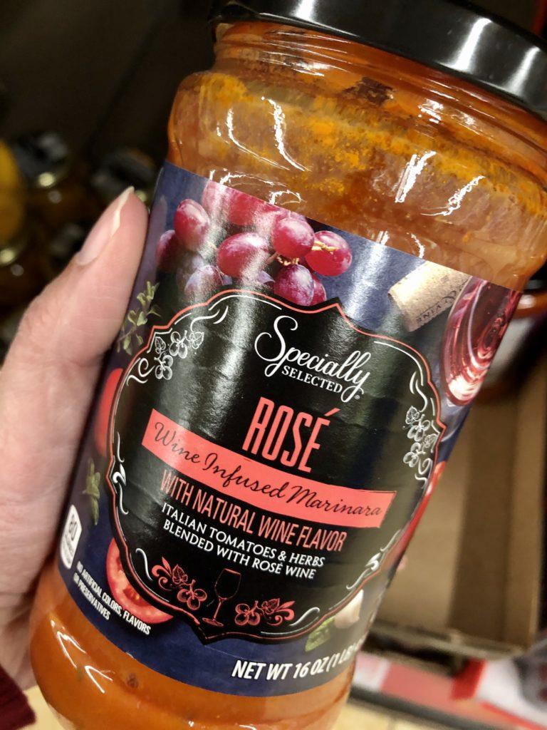 Aldi Rose Wine Marinara Sauce