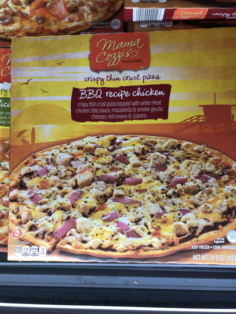 aldi bbq chicken pizza