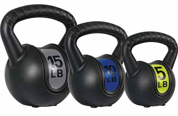 Kettle Bell Set at Aldi