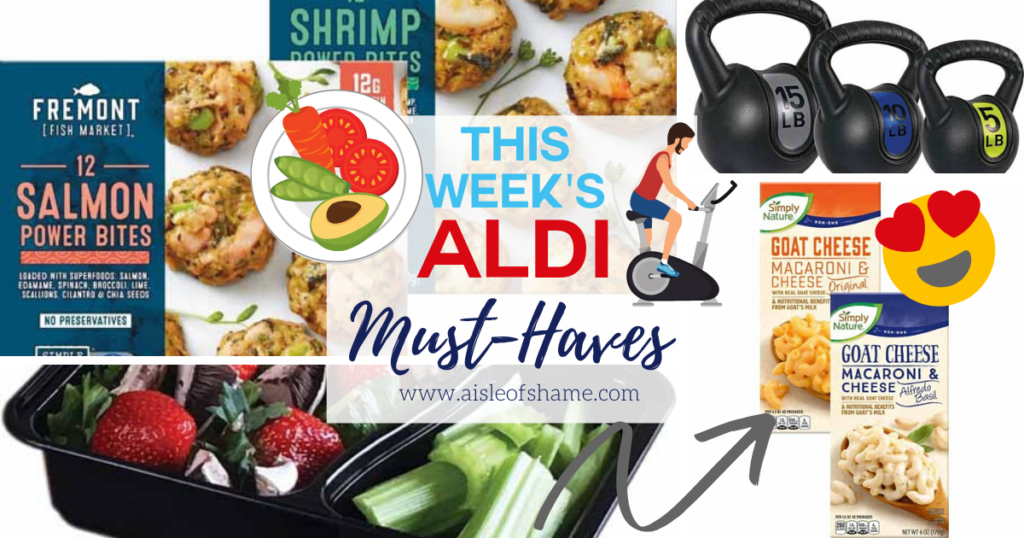 Aldi Shrimp Power Bites and More