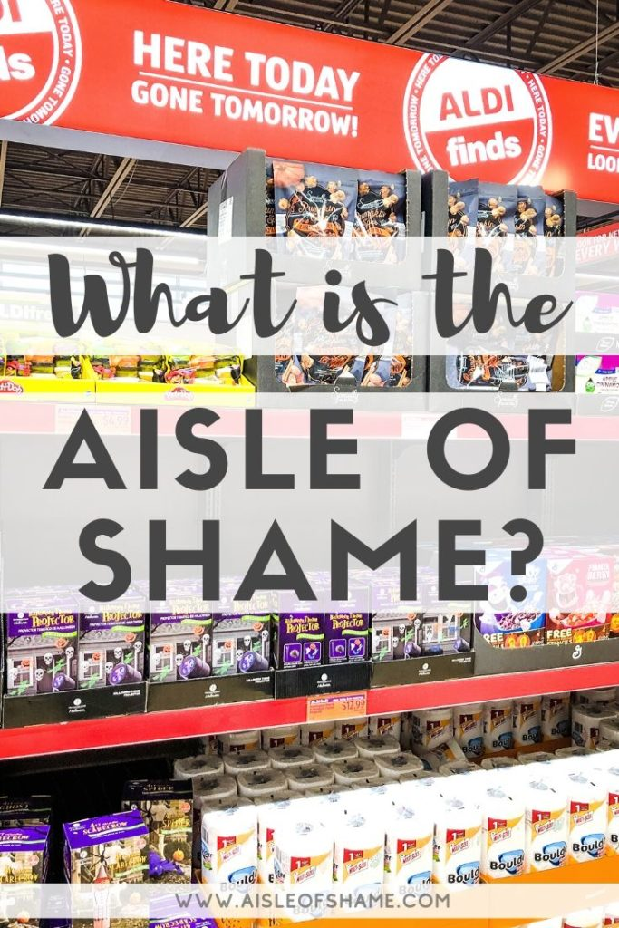 what is the aisle of shame
