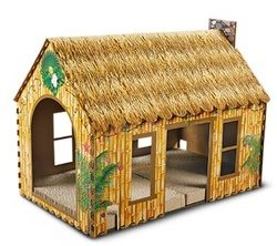 Tiki Hut Cat House
