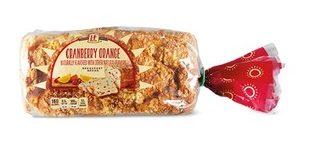 Cranberry Orange Breakfast Bread at Aldi