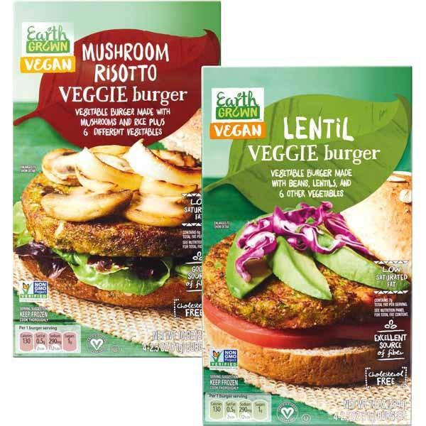 Aldi veggie burgers