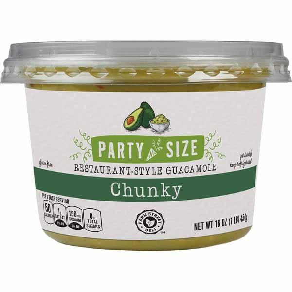 party-size dip guacamole