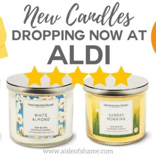 aldi spring candles