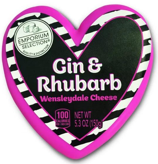Aldi gin and rhubard cheese