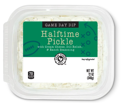 This Aldi Pickle Dip Will Be Perfect For Your Big Game Party
