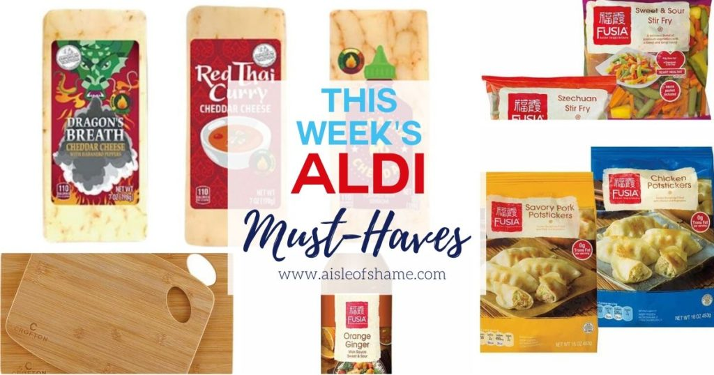 aldi asian week must haves