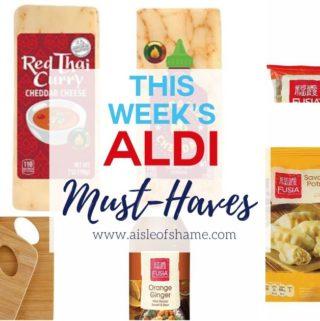aldi asian week must haves