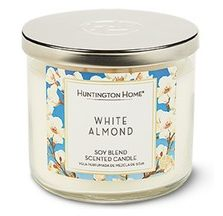 Aldi White Almond Candle