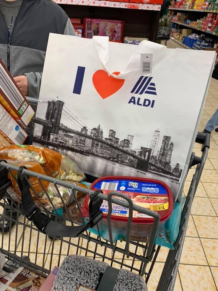 aldi new york state bag