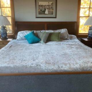aldi velvet comforter